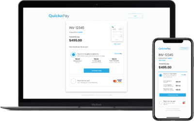 Quickpay Easy Sign Up